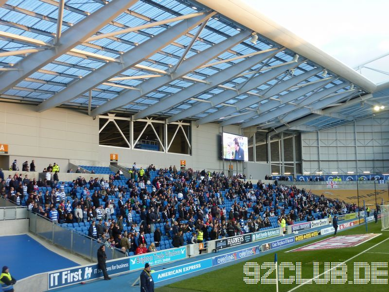 Amex Community Stadium - Brighton & Hove Albion, South Stand