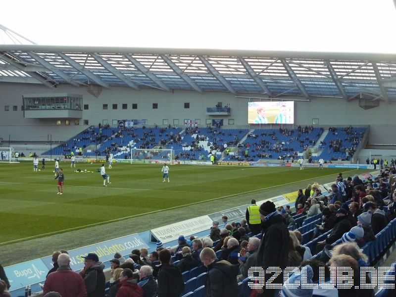 Amex Community Stadium - Brighton & Hove Albion, North Stand
