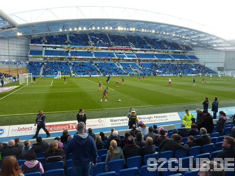 Amex Community Stadium - Brighton & Hove Albion, West Stand