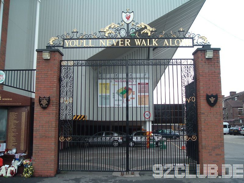 Anfield - Liverpool FC, Shankly Gates