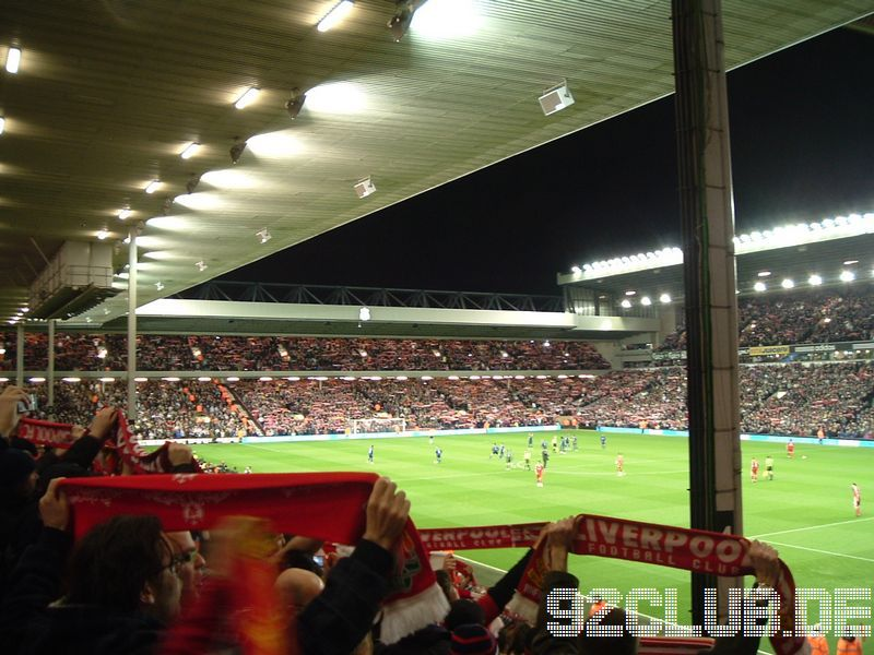 Liverpool FC - Sunderland AFC, Anfield, Premier League, 03.03.2009 - Walk on