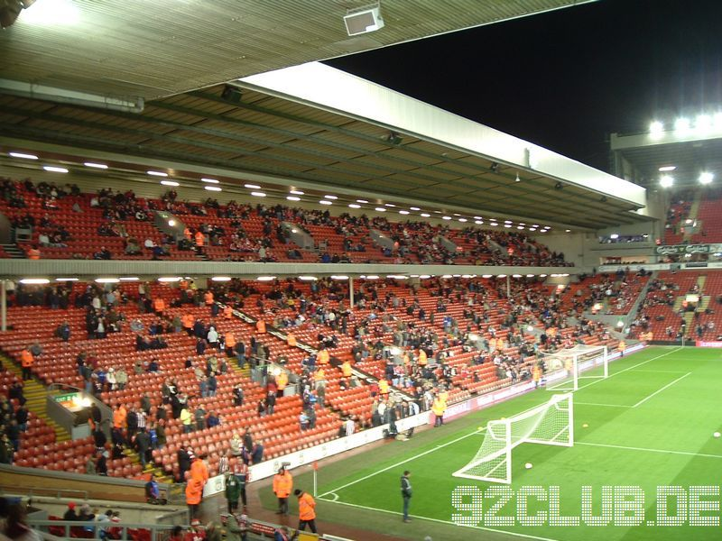 Liverpool FC - Sunderland AFC, Anfield, Premier League, 03.03.2009 - Anfield Road End (Away Sector)