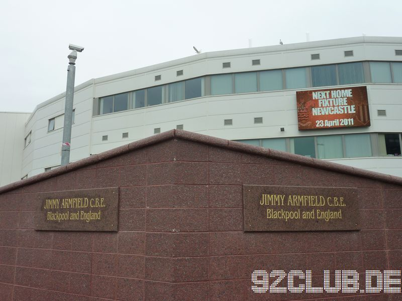 Blackpool FC - Newcastle United, Bloomfield Road, Premier League, 23.04.2011 -