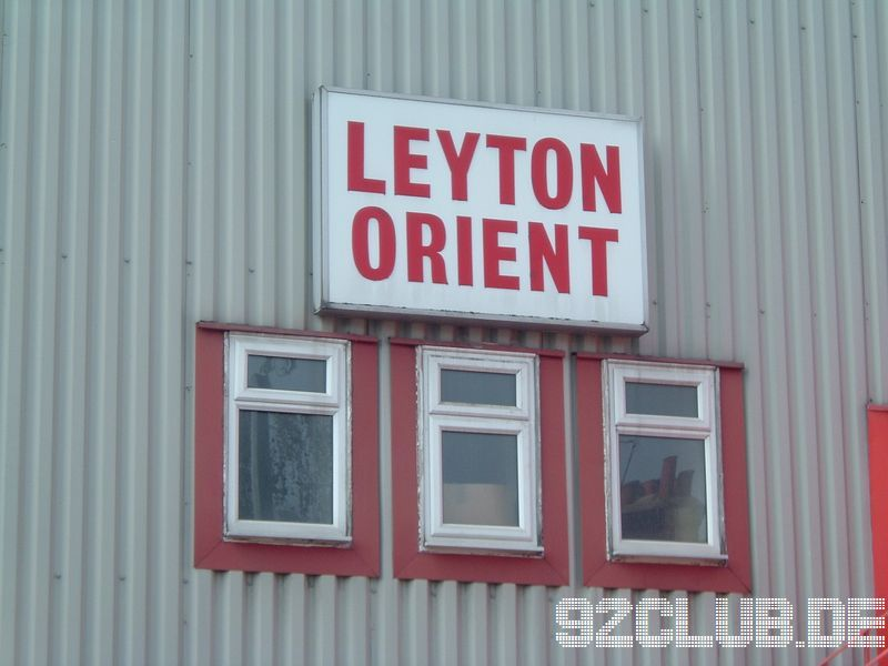 Leyton Orient - Bristol Rovers, 8, League Two, 03.09.2005