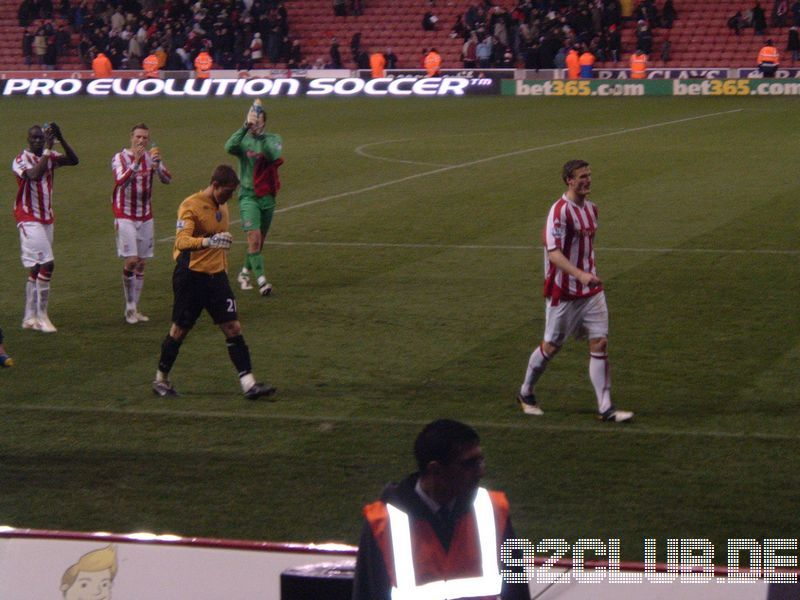 Stoke City - Portsmouth FC, Britannia Stadium, Premier League, 22.11.2009 -