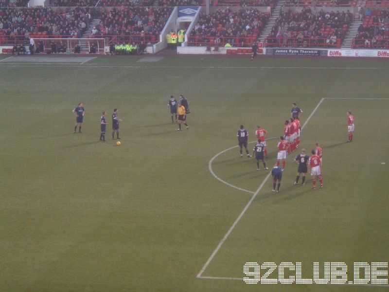 Nottingham Forest - Southend United, City Ground, League One, 19.11.2005 -