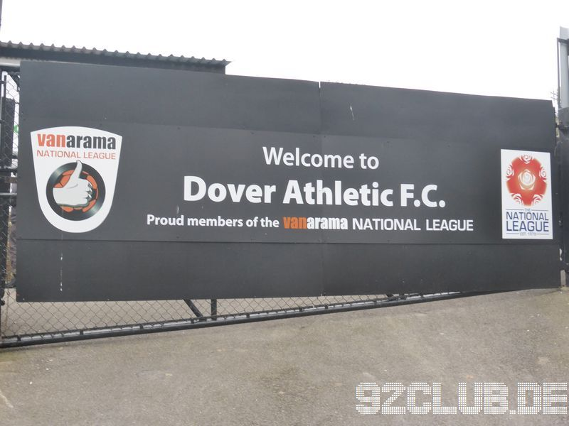 Crabble Atheltic Ground - Dover Athletic,
