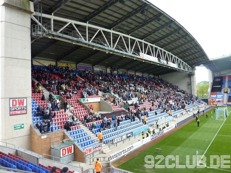 Wigan Athletic - Newcastle United, DW Stadium, Premier League, 28.04.2012 -