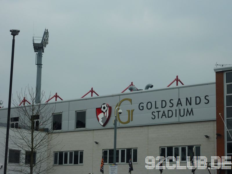 Goldsands Stadium - AFC Bournemouth,
