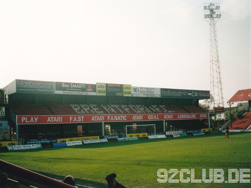 Brentford FC - Luton Reserves, Griffin Park, Reserve League, 25.03.2003 -