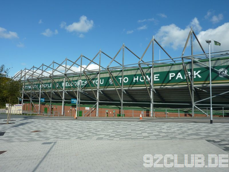 Home Park - Plymouth Argyle,
