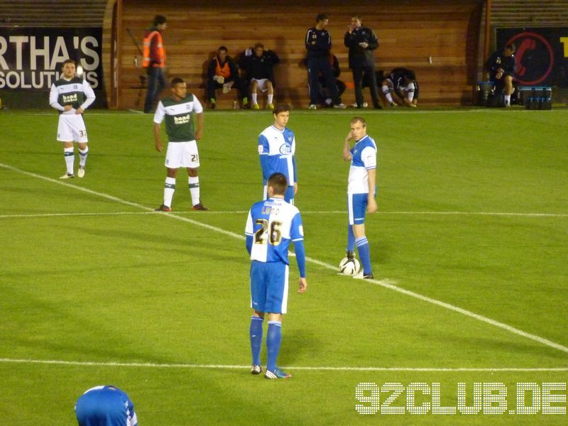 Plymouth Argyle - Bristol Rovers, Home Park, League Two, 18.09.2012 -