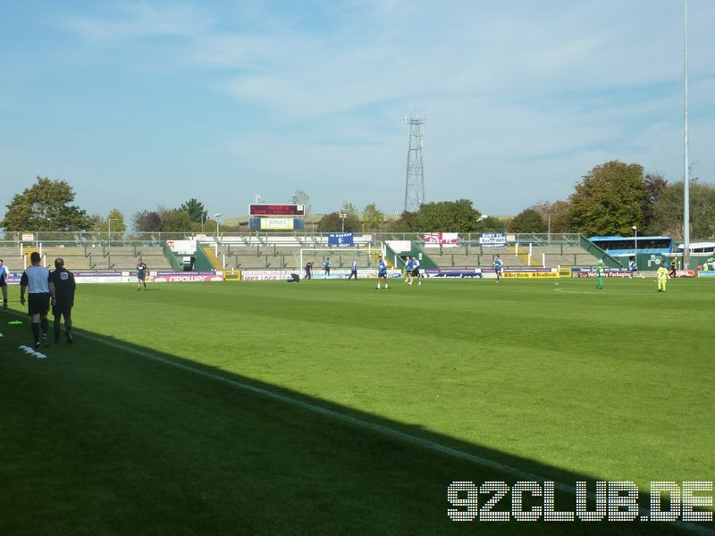 Yeovil Town - Bury FC, Huish Park, League One, 01.10.2011 -