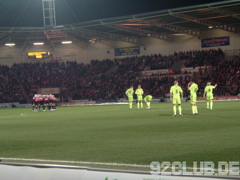 Doncaster Rovers - Derby County, Keepmoat Stadium, Championship, 27.02.2009 -