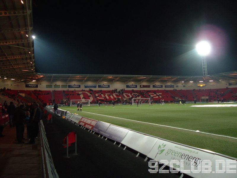 Keepmoat Stadium - Doncaster Rovers,
