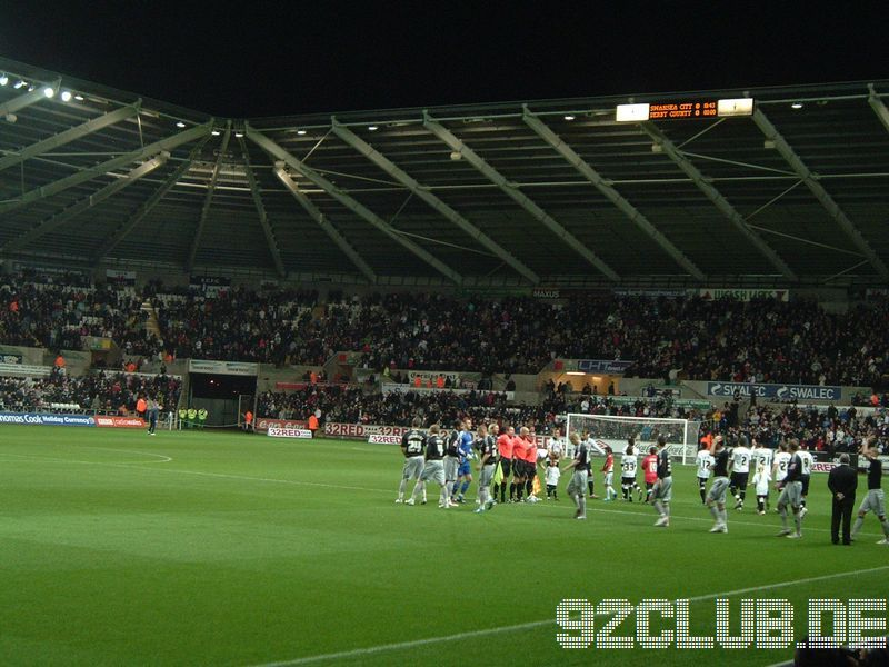 Swansea City - Derby County, Liberty Stadium, Championship, 20.11.2009 -