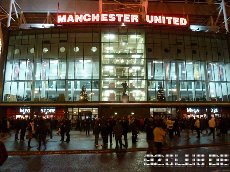 Manchester United - Stoke City, Old Trafford, Premier League, 04.01.2011 -