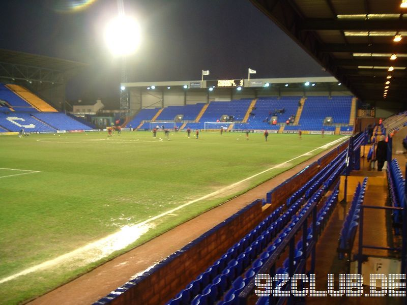 Tranmere Rovers - Swindon Town, Prenton Park, League One, 28.03.2008 -