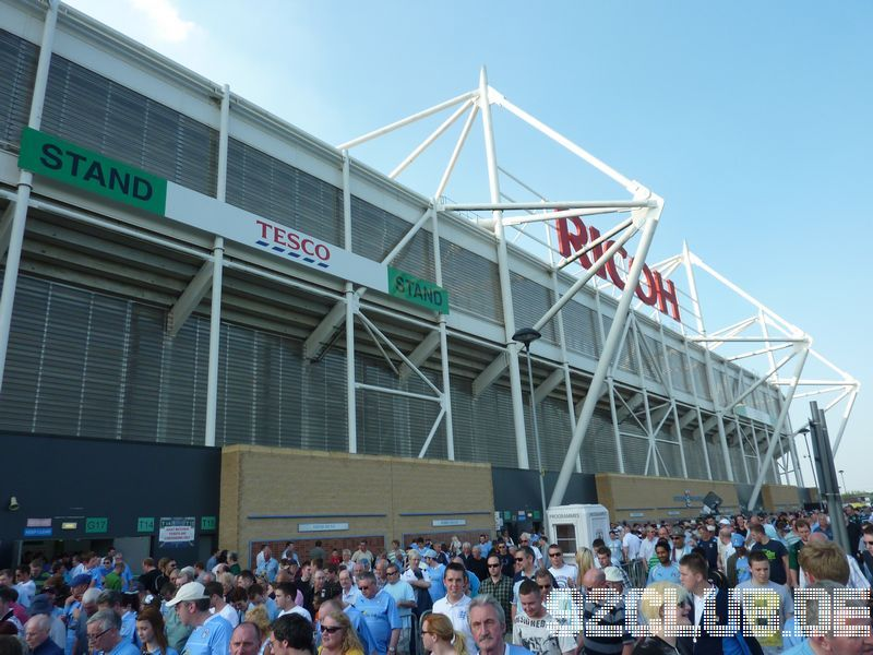 Coventry City - Scunthorpe United, Ricoh Arena, Championship, 22.04.2011 -