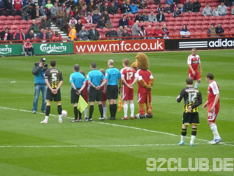 Middlesbrough FC - Cardiff City, Riverside Stadium, Championship, 07.04.2012 -