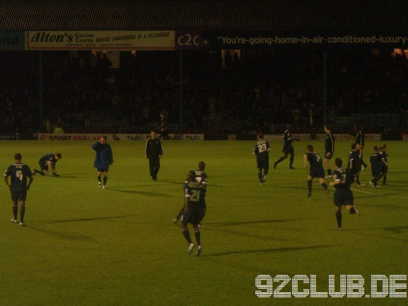 Southend Utd - Chesterfield FC, Roots Hall, League One, 06.12.2005 -