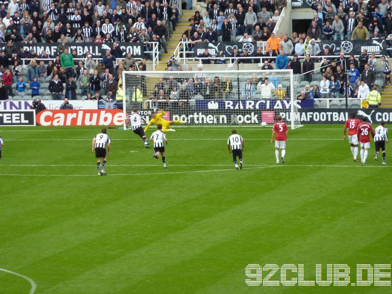 Newcastle United - Stoke City, St.James Park, Premier League, 26.09.2010 -