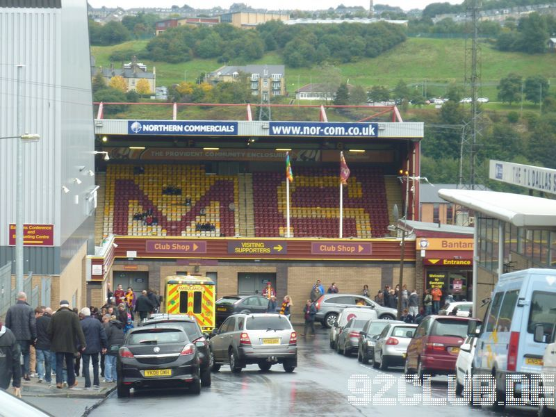 Bradford City - Tranmere Rovers, Valley Parade, League One, 13.10.2013 -