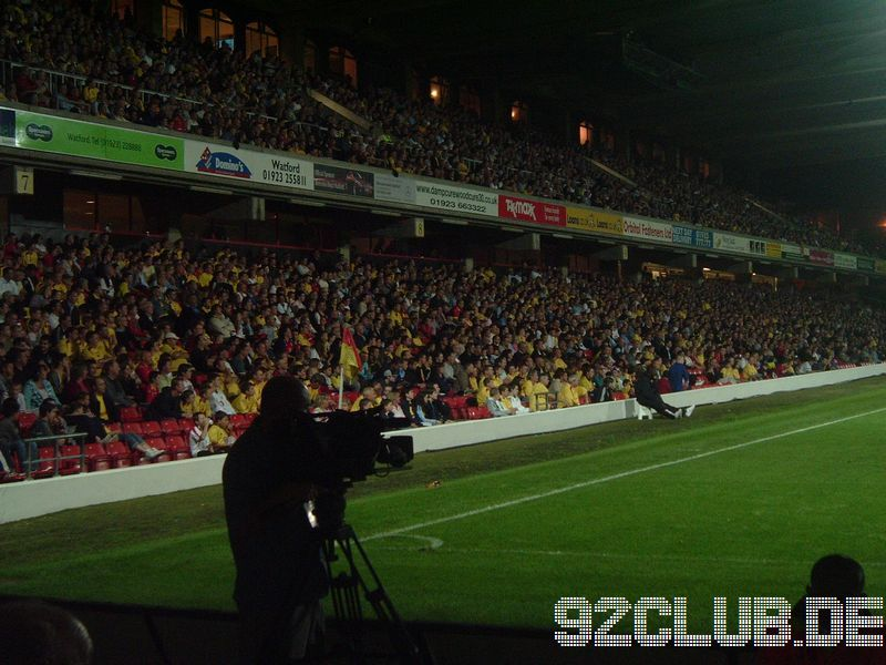 Watford FC - Norwich City, Vicarage Road, Championship, 13.09.2005 -