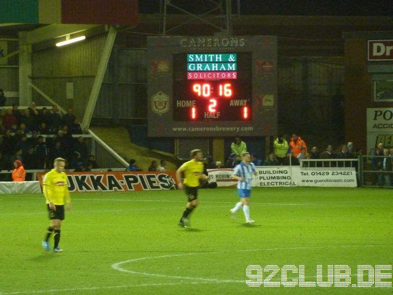 Hartlepool United - Burton Albion, Victoria Ground, League Two, 21.12.2013 -