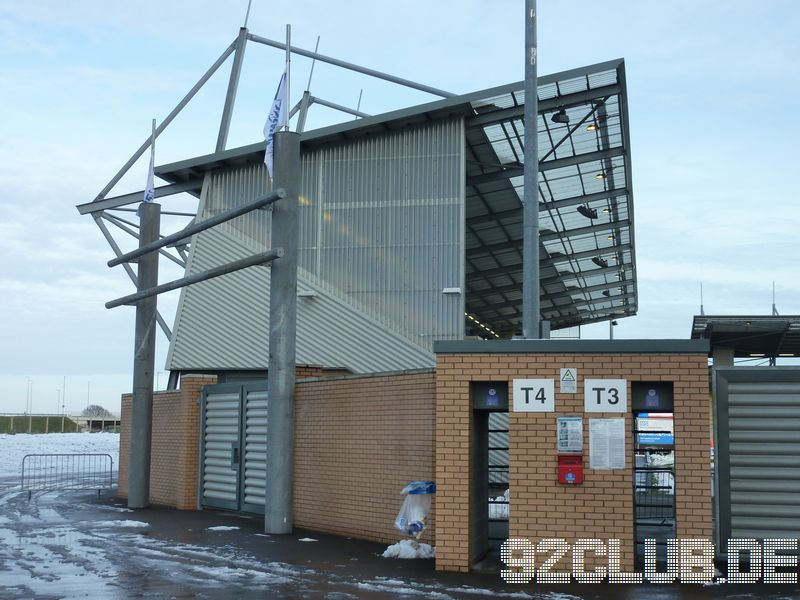Colchester United - Walsall FC, Weston Homes Community Stadium, League One, 26.01.2013 -