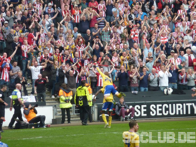 MK Dons - Brentford FC, 92, League One, 21.04.2014